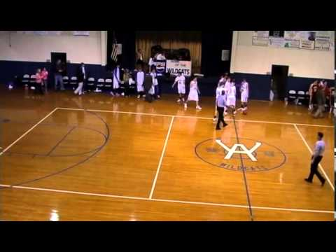 Longest Basketball Shot- Carson McGraw, Wilcox Academy - 07/18/2014