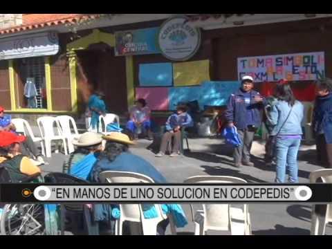 """29/08/2014-13:06 """"EN MANOS DE LINO SOLUCION EN CODEPEDIS"""""""
