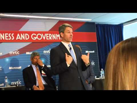 Ken Cuccinelli Attempts (and Fails) to Answer Question on Social Issues (6/20/13)