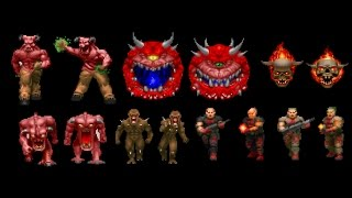 Doom 2 Playing as  monsters!