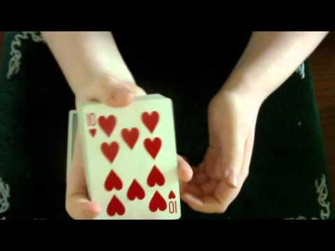 How to do the colour changing card trick!