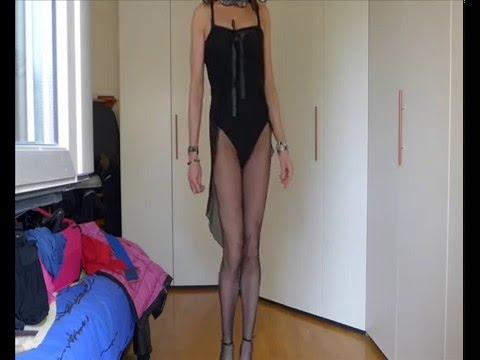 Misscorinnetrav,sexy Transvestite  With Black Lingerie