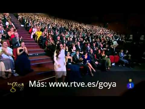 Thumbnail of video Candela Peña recoge su Goya en Los Goya  2013.
