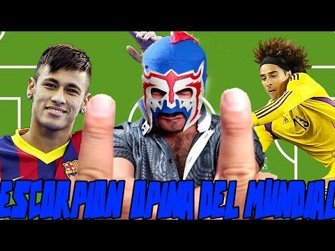Escorpión opina del mundial: Ehhhh puto, Ochoa y Neymar