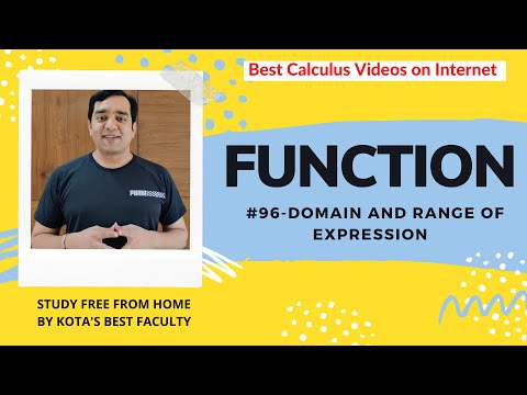 Iit Jee-function-part 96 -mathematics-range video