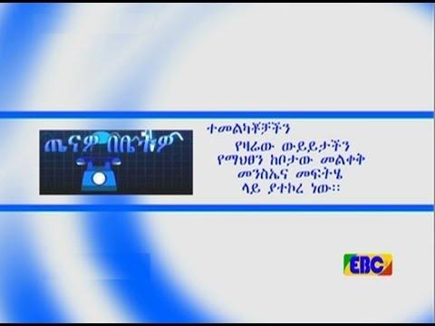 Tenawo Bebetwo - EBC Tahisas 01/2009 E.C