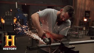 Forged in Fire: Blades from Cannon Scrap Metal (Season 5) | History