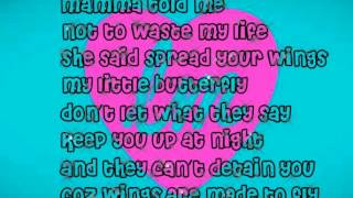 Little Mix- Wings (Lyrics)