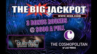 💣💰 3 Bonus Rounds | $600 A Pull | Black Widow @ The Cosmopolitan 🎰🕷