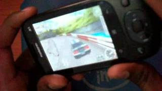 Karbonn A1 Racing Thunder II Sensor Game in Karbonn A1 Android Mobile