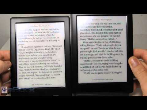 Kobo Glo HD vs Kobo Touch 2.0 Comparison Review
