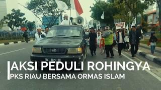 PKS Riau dan Ormas Islam Gelar Long March Peduli Rohingya