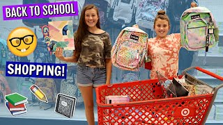 BACK TO SCHOOL SHOPPING TRIP FOR NEW SCHOOL SUPPLIES! TEEN EDITION!