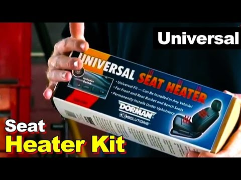 How To Install Universal Seat Heater Kit