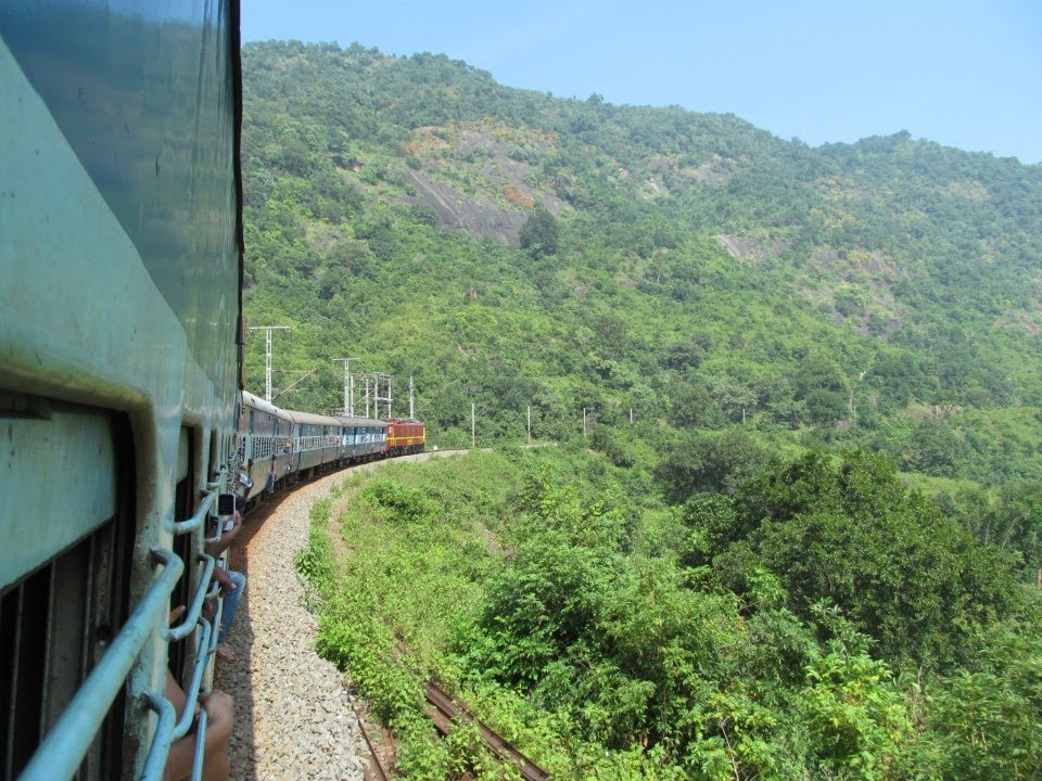 Indian Railways: Araku Train Journey Eastern Ghats KK Line - YouTube