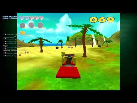 Нарезка стрима - Lego Racers