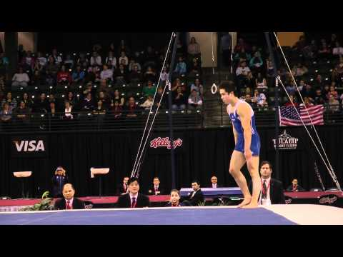 Sean Melton - Floor Exercise Finals - 2012 Kellogg&#039;s Pacific Rim Championships - 3rd