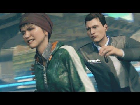Kara Kills Connor - Detroit Become Human