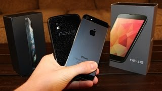 LG Nexus 4 vs Apple iPhone 5_ in-depth Review