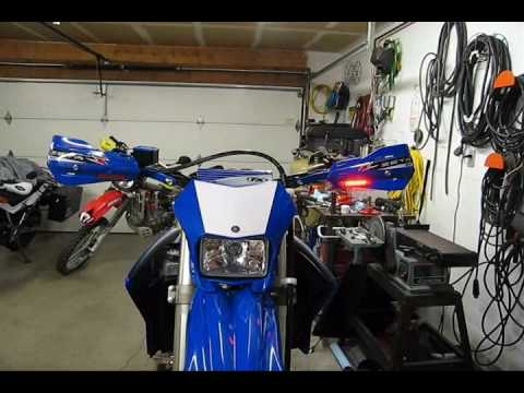 Yamaha WR250R - Zeta Hand Guards/LED Blinkers and DRC LED Tail Light