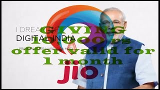 modi giving u free 10000  for bill payment and shopping under digital India. using Jio money wallet