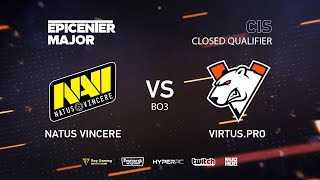 Natus Vincere vs Virtus.pro, EPICENTER Major 2019 CIS Closed Quals , bo3, game 1 [Maelstorm & Lost]