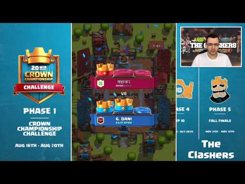 Clash Royale - Crown Championship Challenge - Дек за ПОБЕДИ!
