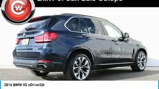 2016 BMW X5 2016 BMW X5 xDrive50i FOR SALE in San Luis Obispo, CA U5596