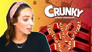 Irish People Try Crunky Chocolate