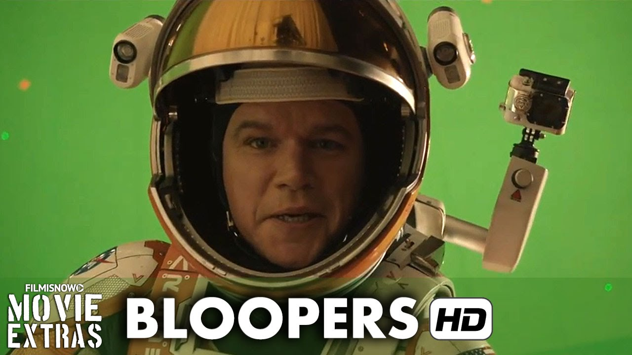 The Martian (2015) Bloopers & Gag Reel