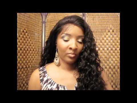Hot Lace Front Wigs Deep Wave Indian remy Hair