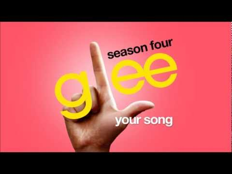 Your Song - Glee Cast [hd Full Studio] video