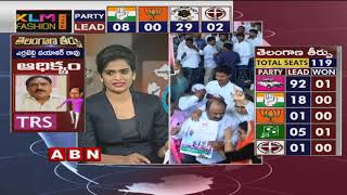 Telangana Elections Results LIVE - TRS Leads in 90-Congress 18  - netivaarthalu.com