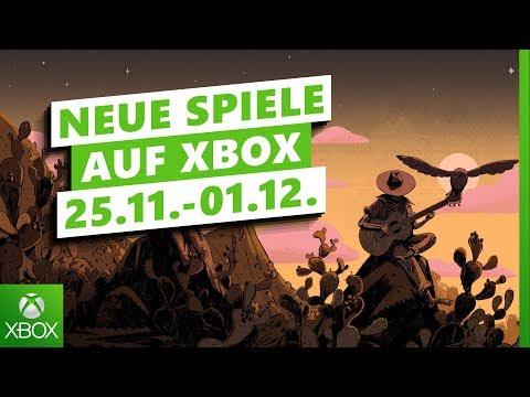 Neue Spiele der Woche 25. November - 01. Dezember | Xbox Weekly News