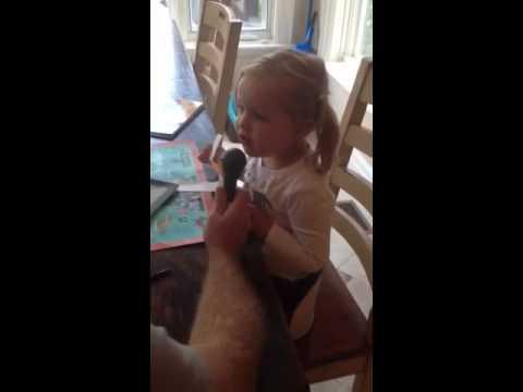 2 year old sings feist
