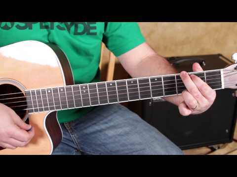 How To Play Diamonds By Rihanna - Easy Acoustic Beginner Guitar Lessons Tutorial video