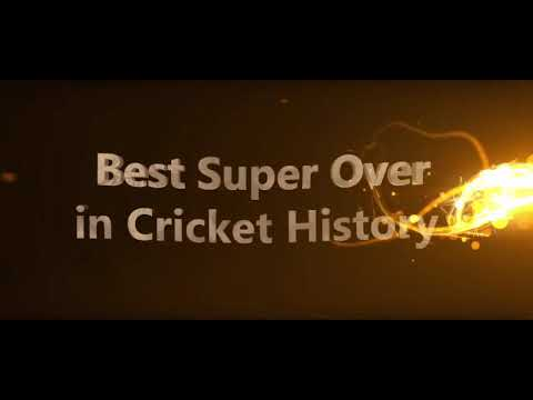 Best super over in history....