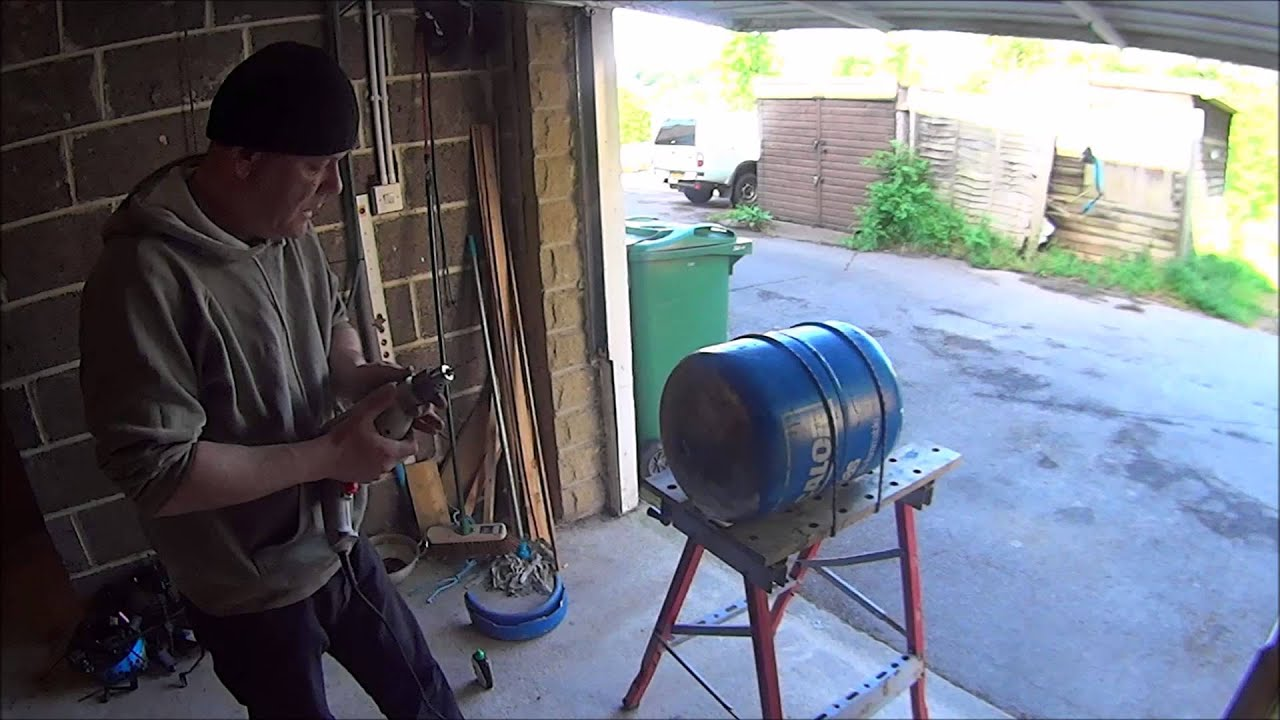 The Shedmonster Wood Burning Stove Garage Heater Project