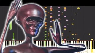 Howard The Alien Theme Song Piano Cover But It's So Beautiful 99.99% WILL MAKE YOU CRY