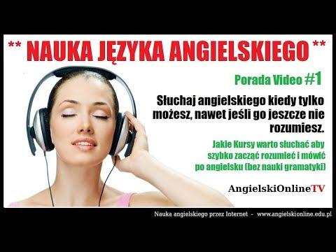 NAUKA JĘZYKA ANGIELSKIEGO MP3 - Słuchaj Angielskiego Nawet Kiedy Nie Rozumiesz (Szybka Porada #1).