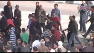 فض اشتباكات ميدان عبدالمنعم رياض 25 يناير 2015