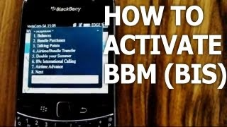 (2013 Update) How to Activate Your BBM & Other BlackBerry Services (Vodacom Pre-paid)