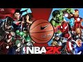 Avengers Vs Justice League in NBA 2K ! HD