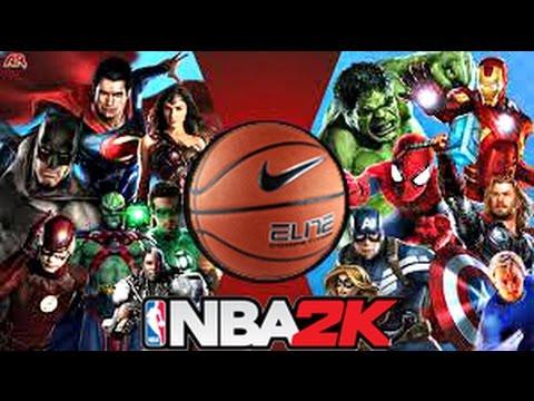 Avengers Vs Justice League in NBA 2K ! HD