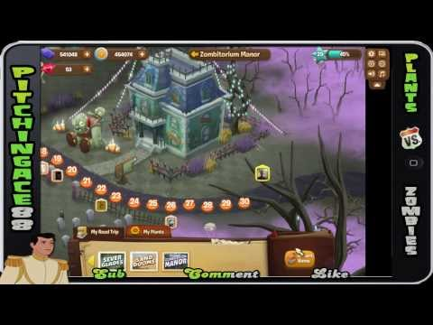 Plants v Zombies Adventures - Zombitorium Manor 8/8 (Facebook, iPhone, Android)