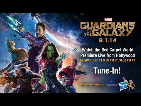 Marvel's Guardians of the Galaxy- Red Carpet World Premiere Trailer