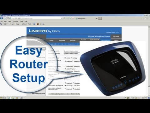 How to Install Your Linksys Wireless Router  - How to setup a linksys wireless router