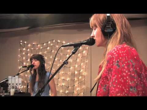 Au Revoir Simone - All or Nothing (Live on KEXP)