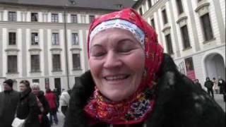 PRAHA - vedoucí TETEK HANKA PETRŮ vzpomíná kolikrát vystupují na Pražském hradu