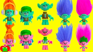 Trolls Poppy and Branch Hair Mixup in Paw Patrol Skye